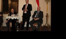 Horváth Attila jogtörténészt, a Pázmány Péter Katolikus Egyetem egyetemi tanárát mint alkotmánybírót Bécsben első alkalommal köszönthettük