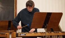 Bojtos Károly, a Kossuth- és Liszt Ferenc-díjas Amadinda Ütőegyüttes tagja