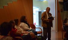 Deák Ernő, a Bécsi Napló főszerkesztője is részt vett a költészet napi eseményen
