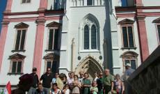A gráci magyarok egy csoportja minden augusztus végén elzarándokol gyalog Máriacellbe