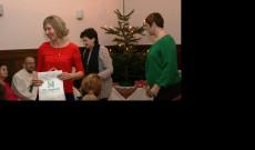 Mi is átadtuk ajándékainkat az innsbrucki karácsonyi ünnepségen