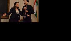 Juliette Khalil szoprán (Volksoper) és Bernhard Viktorin tenor (Vereinigte Bühnen Wien)