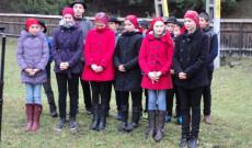 Kosteleki gyerekek a Rupert Mayer-megemlékezésen