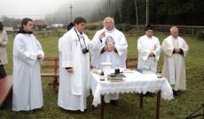 Szentmise a kosteleki Rupert Mayer-megemlékezésen