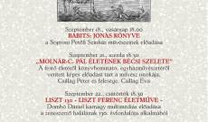 A bécsi Pázmáneum idén először csatlakozott a magyarországi Ars Sacra Fesztiválhoz