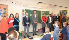 hivatalos találkozó a bécsi Bunte Schule Währing-ben