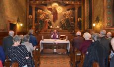 Adventi gyertyagyújtás Bécsben
