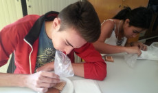 Koncentrálnak a diákok