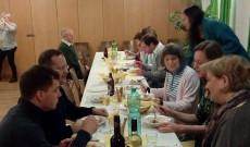Cecília ünnepség résztvevői