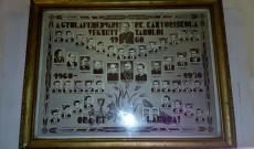 A Gyulafehérvári RK Kántoriskola tablója