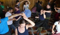 Mezőkeszüi tánctanítás 2. - Fotó: Patai Borbála