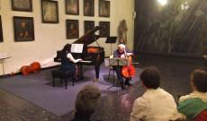 Brezóczky Gabriella- zongora, Kostyák Előd-cselló