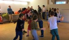 gyerekek a táncházban