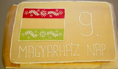 Magyarház Napja torta