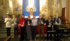 A fellépők (balról jobbra): Csikós Csenge, Fredrik Fransson, Júlia Jansson, Orsolya Ferencz, Peter Norbert T, Benkt Stonner, Jan Stjerna és Lennart Elvmyr
