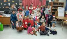 Mikulás a Magyar Iskolában