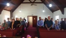 Ünneplő gyülekezet