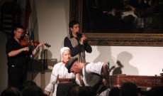 Az Enyedi-Salamon Quartett koncertje