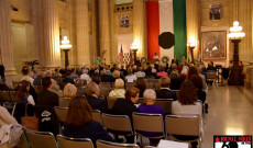 Megemlékezés a clevelandi városházán