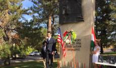 dr. Grof Istvan beszede a Hungarian Freedom Parkban