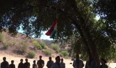 Zászló felvonása