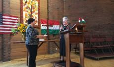 Pearman Katalin átveszi a konzuli tisztséget