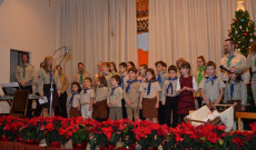 Karácsonyi műsor a Magyarok Nagyasszonya Egyházközösség nagytermében