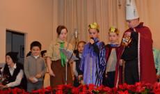 A gyerekek lelkiismeretesen és fáradhatatlanul készültek az ünnepi előadásra