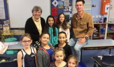 A Flemingtoni Magyar Iskola diákjaival