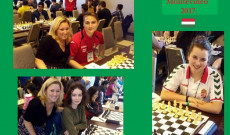 Marosi Levente (17), Érseki Tamara (16), Egyed Judit (17)