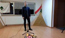 Csadi Zoltán verses-zenés műsora (Varga Gabriella fotója)