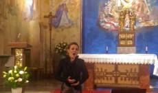 Többek között Cesar Franc Panis Angelicus-át is hallhattuk Orsolya Ferencz előadásában.
