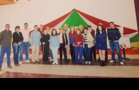 A Villa Angela-i magyar közösség tagjai az egyesület fennállásának 80. évfordulóján