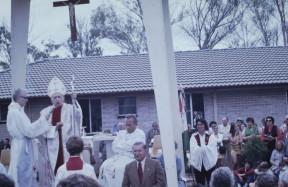 Mindszenty József hercegprímás bíboros úr 1974-ben történt látogatása Sydneyben
