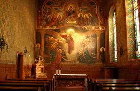 A Pazmaneum kápolnája