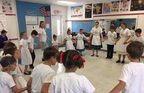 South Florida Hungarian Kids Club - néptánc foglalkozás