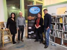 Tóth Balázs és a HECC fotópályázat zsűrije