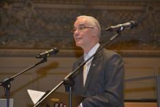 Balog Zoltán, az emberi erőforrások minisztere beszédet mond