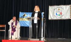 Az ökumenikus istentisztelet Michna Krisztina lelkipásztor és Vizauer Ferenc atya vezetésével