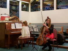 Cleveland, Walton Hillsi Magyar Református Egyházközség, gyermekek zenés műsora
