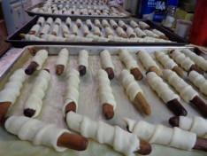 Karácsonyi sütemények készítése a Duquesnei Magyar Református Egyházközség tagjaival