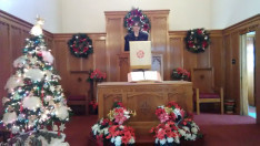 Adventi istentisztelet a Duquesnei Magyar Református Egyhátközségben