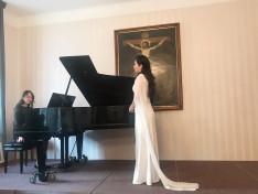 Joanna Lepis (zongora), Xuyan Liu opera énekes