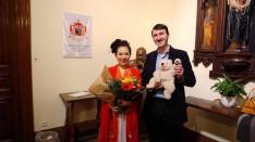 Xuyan Liu szoprán énekes és jómagam