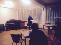 Oprea Nikoletta előadása a Bécsi Magyar Otthonban