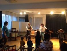 Az Aranyalma Páros előadása a Bécsi Magyar Iskolában