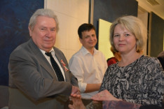 Szemerédi Tibor, Sass Huba, Sass Judit, a Bécsi Magyar Iskola igazgatója