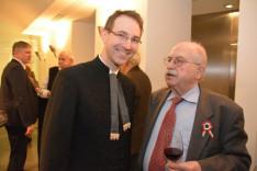 Vecsey Márk és Deák Ernő, a Központi Szövetség elnökségének tagjai