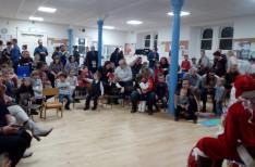 Mikulás-ünnepség Edinburgh-ban