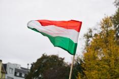 Magyar zászló Lübeckben